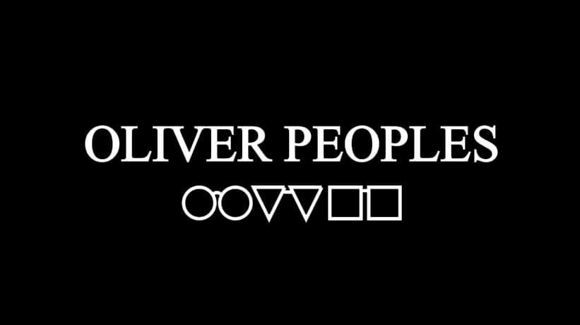 Lunettes Oliver Peoples à STRASBOURG - Opticien Optique Jacques MARMET